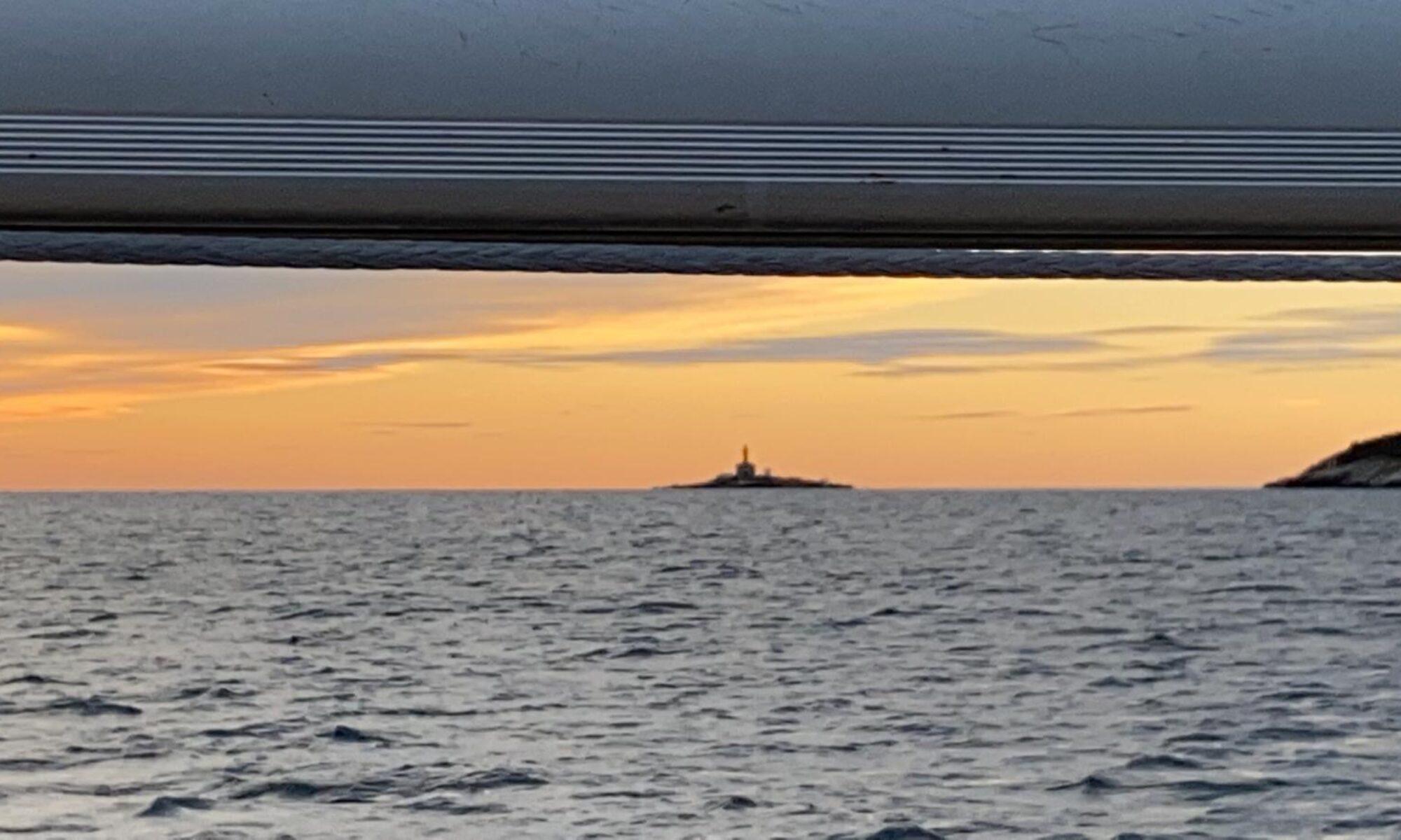 A vela da Glasgow a Trieste